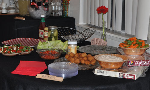 Our Kiddie Food Table