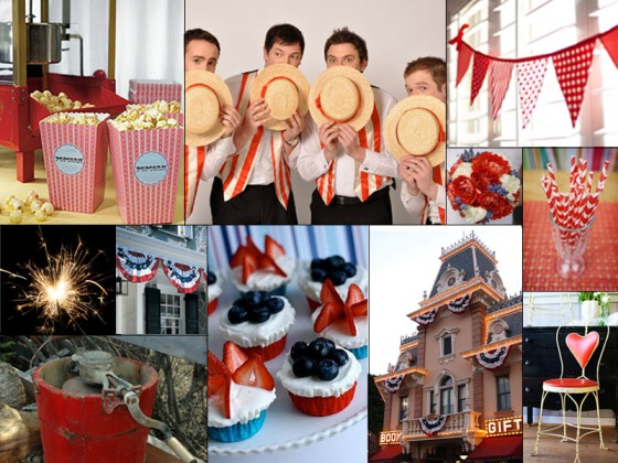 Born on the Fourth of July Inspiration Board - Events by Elisa