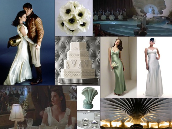 The Rocketeer South Seas Wedding Inspiration Board - Events by Elisa