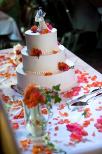 My wedding cake table - Events by Elisa