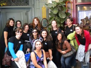 Monica's Disneyland Bachelorette Party Attendees - Events by Elisa