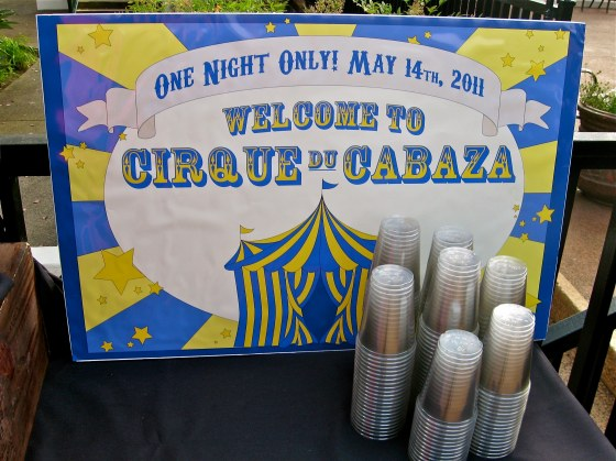 Welcome to Cirque du Cabaza - Events by Elisa