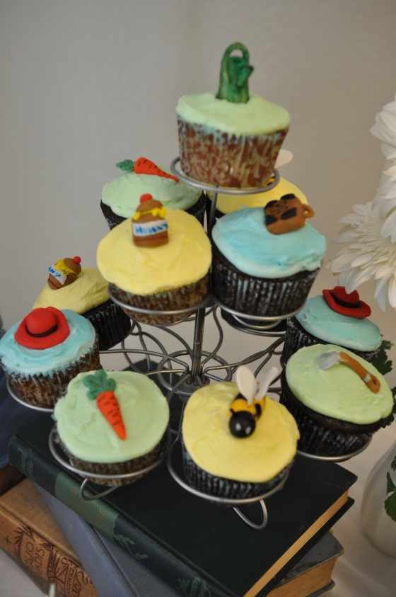 Themed Cupcakes by Sweeter by the Dozen - Events by Elisa