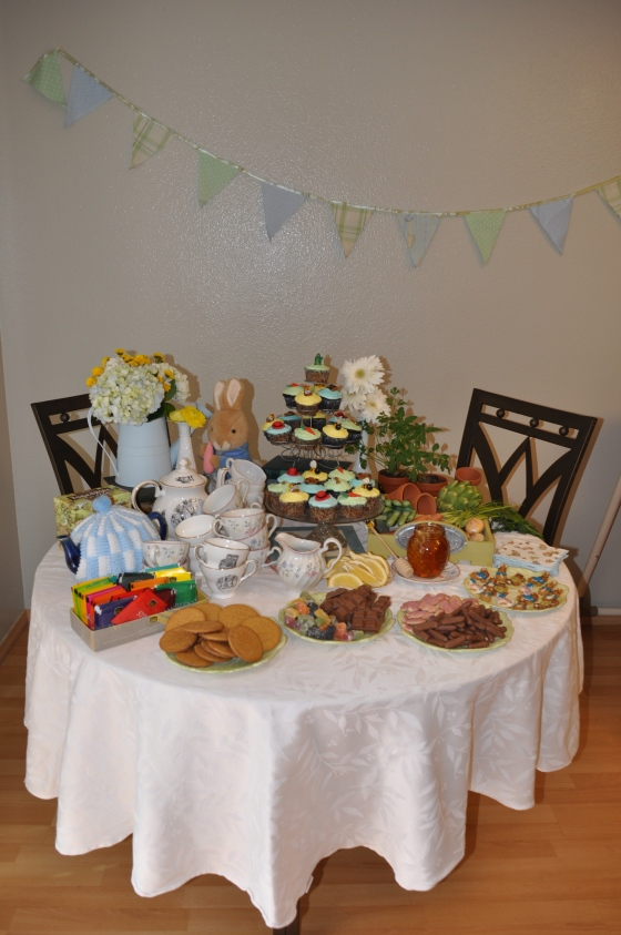 Sweet Table with Homemade Bunting - Events by Elisa