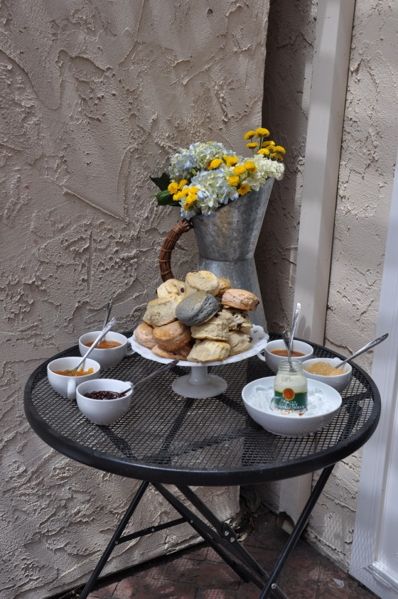 Scones Table - Events by Elisa