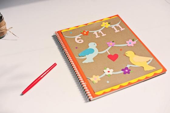 Beautiful Handmade Guestbook