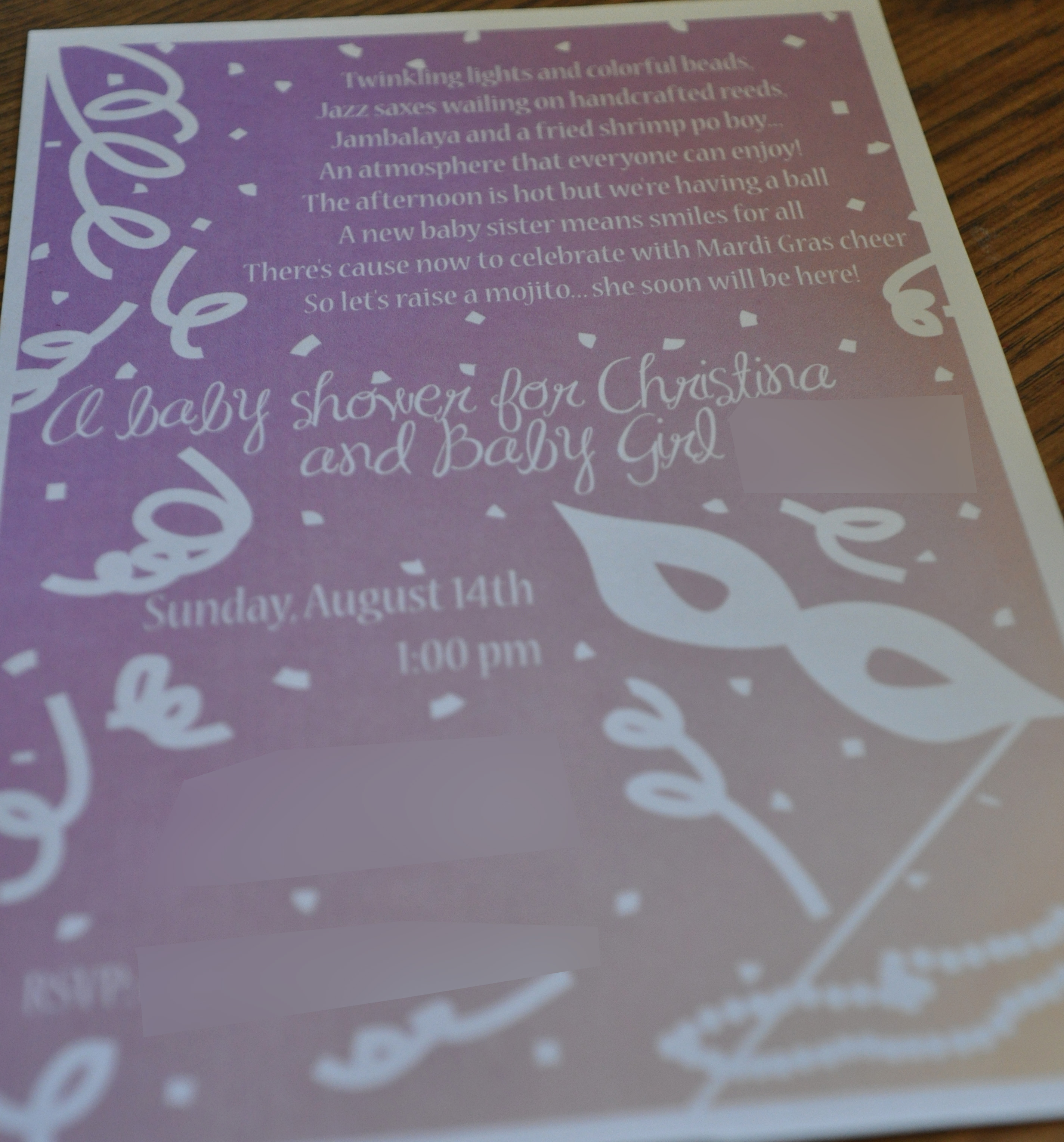 Baby Shower Events By Elisa