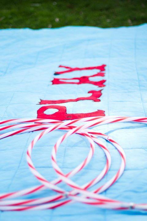 Handmade PLAY blanket