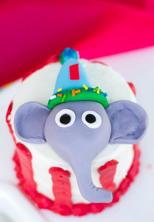 Elephant Smash Cake by Calculated Whisk
