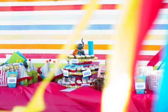 Circus Birthday Party, Photo by Lindsey Gage