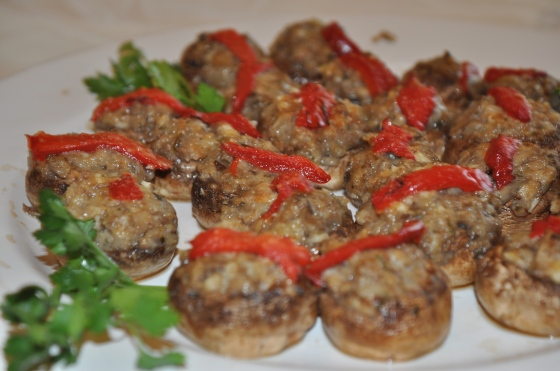 Mushroom appetizers!