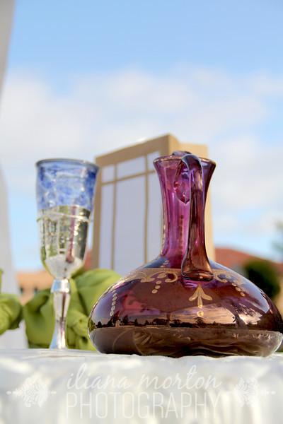 Wine ceremony carafe
