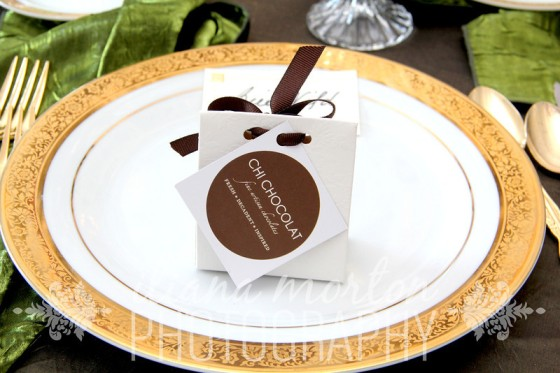 Favors by Chi Chocolat