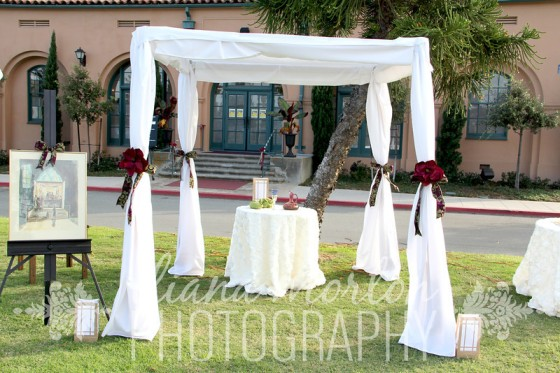 Chuppah by Anar Party Rentals