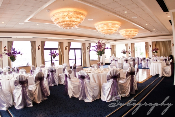 Ballroom reception at the Sheraton, photo by Sutography