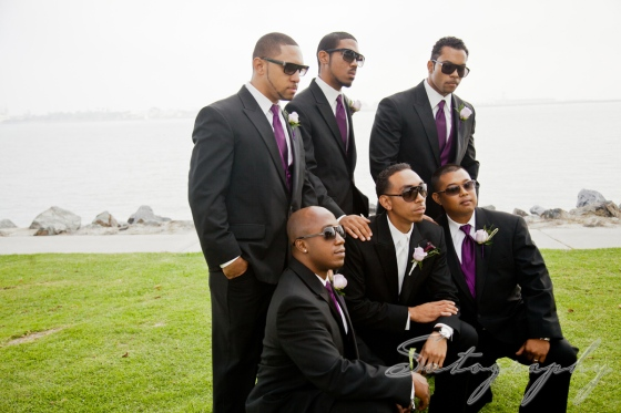 Groomsmen with Attitude! Photo by Sutography