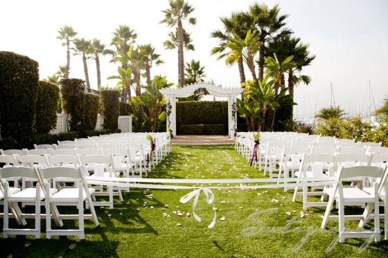 Pretty ceremony location, photo by Sutography