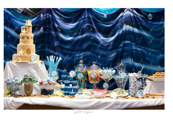 Sweet Table by Events by Elisa, featuring Hey There, Cupcake and Calculated Whisk