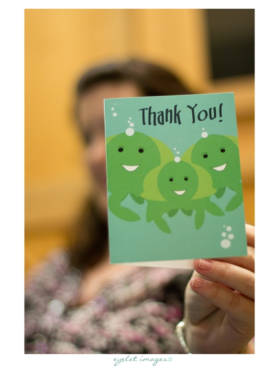 Custom Thank You cards by Events by Elisa