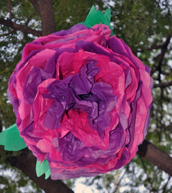 Tissue flowers by Events by Elisa, available in Elisa's Etsy Shop