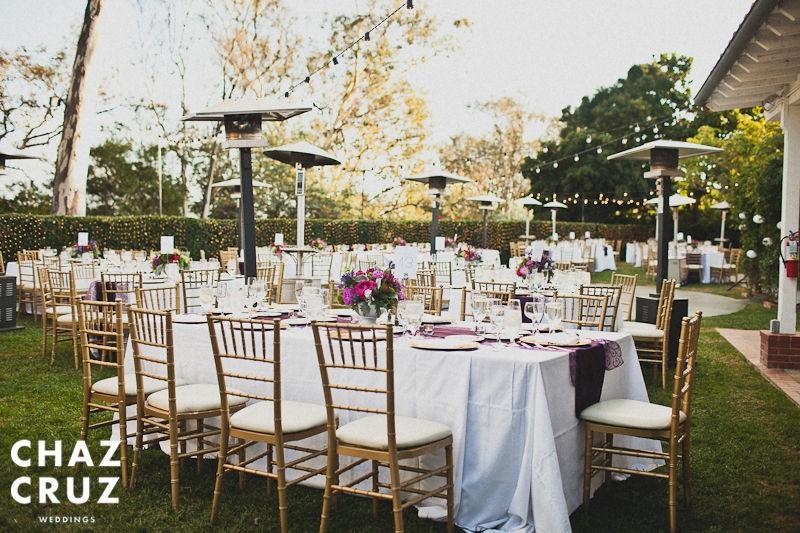 Long Rectangular Tables Wedding Reception | American HWY