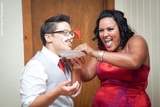 Ana and Gina's Wedding, image by Kaysha Weiner Photography